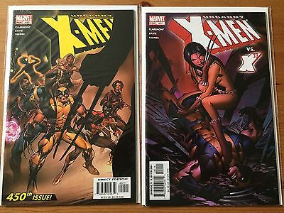 Uncanny X-men 450 and 451 lot early X-23 appearances
