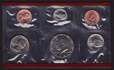United States 1987 Mint Set 6 coin set D Mint Mark