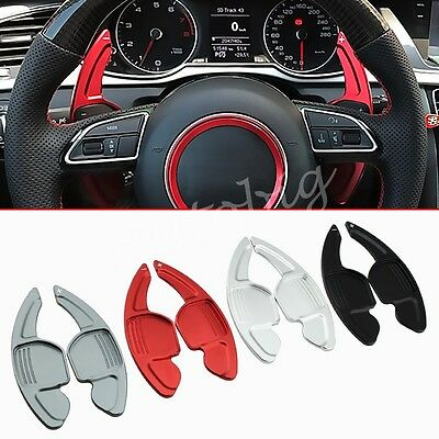 For Audi Steering Wheel Gear Shift Paddle Extension Box Interior Accessories