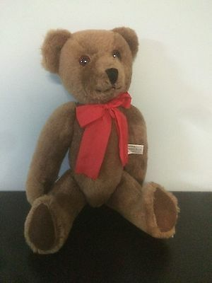 Deans Childsplay Toys Stuffed Animal Bear 80th Anniversay # 435/2500 UK 1983 14""