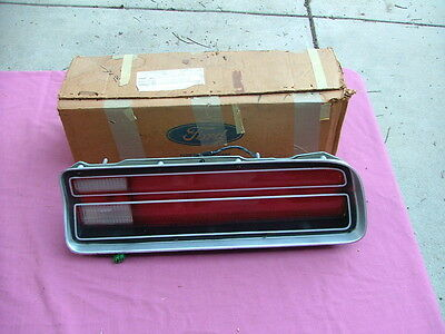 1972 Ford Galaxie, LTD tail light assembly, RH, NOS! D2AZ-13404-A lens