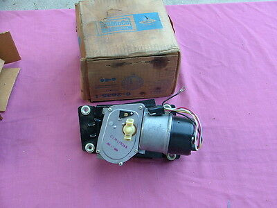 1965-66 Ford Galaxie windshield wiper motor assembly, NOS! C5AZ-17508-D
