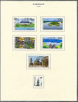 Germany Selection Of 1997  Mint & Used Stamps