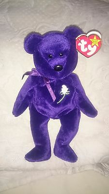 Original Ty Beanie baby - PRINCESS DIANA 1997 MEMORIAL BEAR