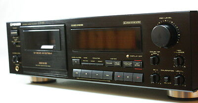 Pioneer Ct-757 Stereo Cassette Deck Player