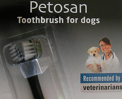Petosan Double Headed Toothbrush-Cleans Both Sides-Toy/cat/s/m/l