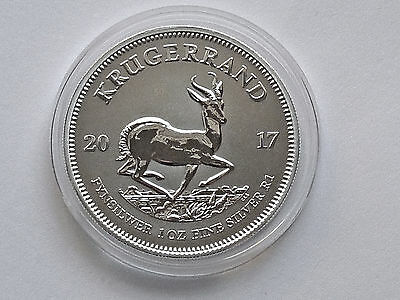 2017 Krugerrand Silver Coin - 50 Years Premium Anniversary Edition