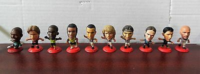 Corinthians Microstars Ten Rare International Star Player Figures