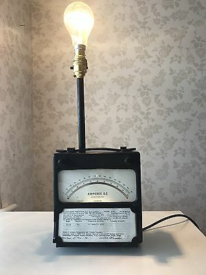 ***Ampere Meter Lamp Vintage/Retro/Unique***
