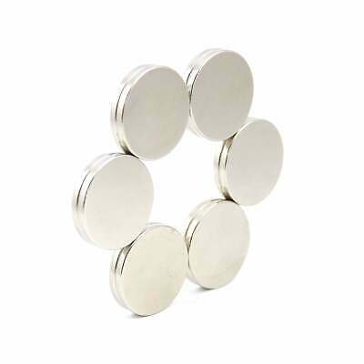N52 20mm dia x 2mm strong Neodymium disk magnets DIY MRO craft fridge SMALL PKS
