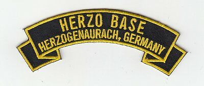 Herzo Base Germany embroidered patch