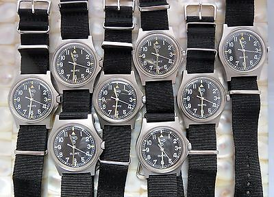 Cwc G10 Quartz Watch British Army / Royal Marines Issued 95/04/06 New Batt+Strap