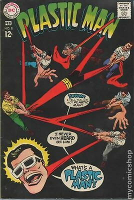 Plastic Man (1966 1st Series DC) #8 GD/VG 3.0 LOW GRADE