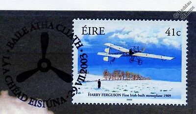 Harry Ferguson Monoplane Irish Aircraft Stamp FDC (100 Years of Powered Flight)