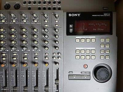 Sony MDM-X4 Minidisc Multitrack Recorder