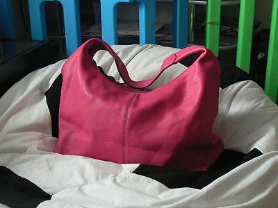 Lovely brand New  Pink Lady's Leather Handbag