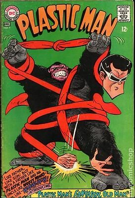 Plastic Man (1966 1st Series DC) #7 VG 4.0 LOW GRADE