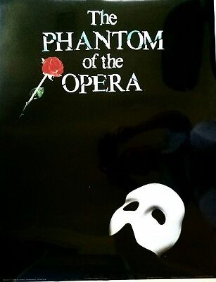 New. Phantom Of The Opera 22 X 28 Poster. Free Shipping.
