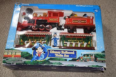 Walt Disney Parks Disney Railroad Train Set Complete In Box Please Read
