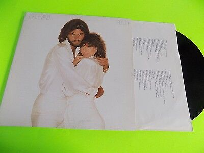 Vtg Record LP 1980s Barbara Streisand Guilty with Booklet