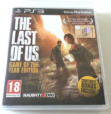The Last Of Us Game Of The Year Edition Goty Gioco Ps3 Playstation 3 Italiano!