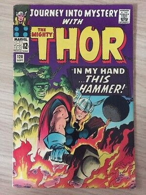 Journey Into Mystery 120 with Thor (Sept 1965)