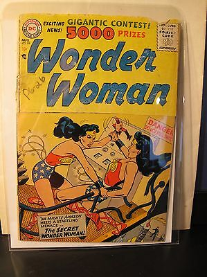 Wonder Woman #84 (Aug 1956, DC) 2.0 due to cut cover see description!