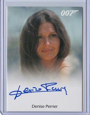 2017 James Bond Archives Final Edition DENISE PERRIER Full Bleed Autograph