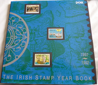 Irish Stamp Year Book 1991 - 1992 Complete W/ Stamps  Edition #4454 of 5500