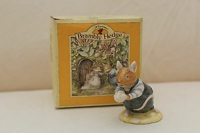 Vintage Royal Doulton Brambly Hedge Teasel Figurine - Boxed (DBH17)