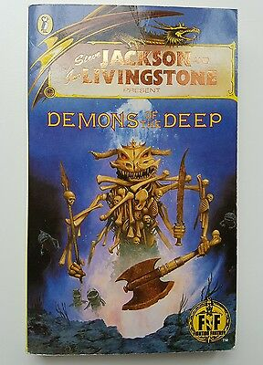Demons of the Deep by Steve Jackson (Paperback, 1986)