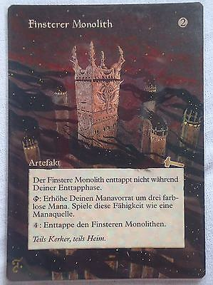 GRIM MONOLITH - Urza's Legacy - Magic the Gathering ALTERED ART/ Alternate Art