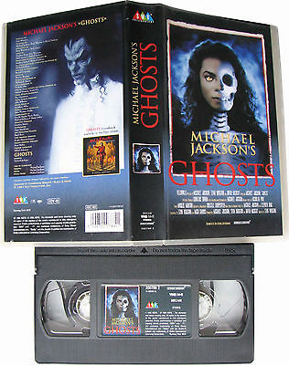 Michael Jackson VHS GHOSTS Cassette Video Tape Clip Film + Making Of 1997