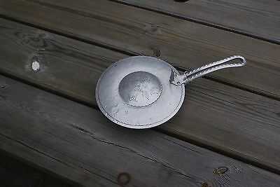 Vintage Hand Hammered Travel Saucepan, Mini Frying Pan,  Bed Warmer?