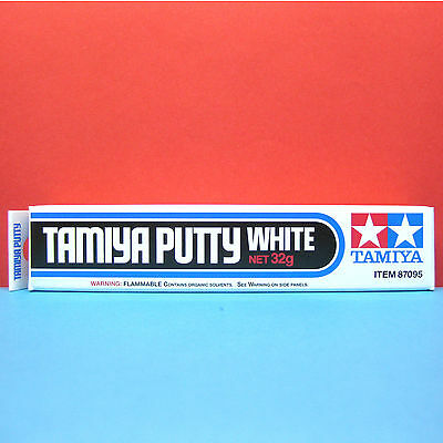 Tamiya #87095 Tamiya Putty (White) Net 32g