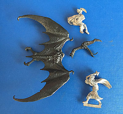 Citadel Lord of the Rings 1980`s BME2 Nazgul on Winged Beast Set oop