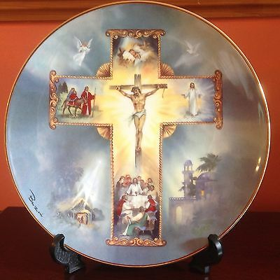 Royal Doulton THE LIFE OF CHRIST by Barzoni - decorative plate