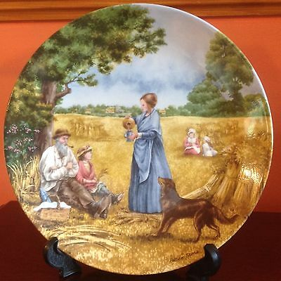Wedgwood HARVEST SUPPER by Petula Stone - decorative plate