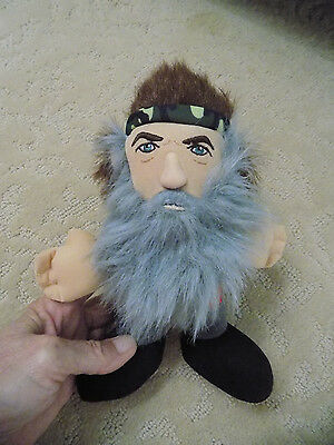 "Duck Dynasty Phil Robertson 8"" Talking Toy Doll Stuffed Plush Multi sayings  81"