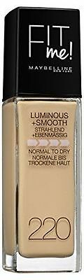 Maybelline Fit Me Luminous & Smooth Foundation 220 Natural Beige