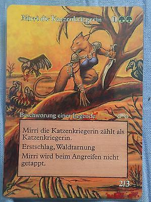 MIRRI CAT WARRIOR - Exodus - Magic the Gathering ALTERED ART/ Alternate Art