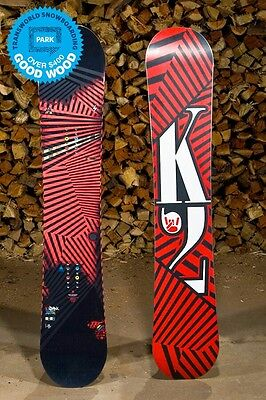 K2 Parkstar 157 Snowboard Freestyle/All mountain with Rome Arsenal Bindings.