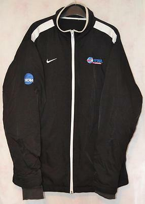 Retro Nike Ncaa Black & White Ice Hockey Jacket Uk Mens Large