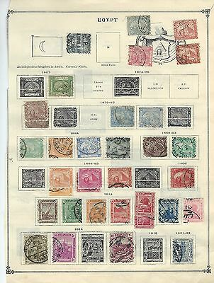 Egypt - First Years / Early Years Used / Mint Stamps (1867-1928)