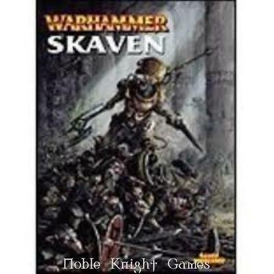 GW Warhammer Fantasy Warhammer Armies - Skaven (2002 Edition) SC Fair+
