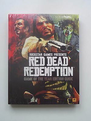 Red Dead Redemption Game of the Year Limited Edition Guide *New and Sealed*