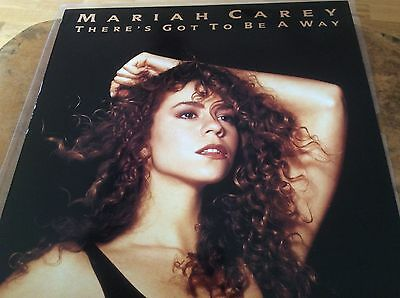 "Mariah Carey - There's Got To Be A Way - UK 1991 12"" Vinyl Single , Very Rare."