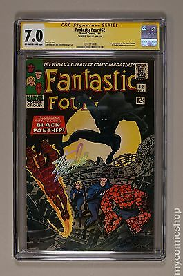 Fantastic Four (1961 1st Series) #52 CGC 7.0 SS 1316571008