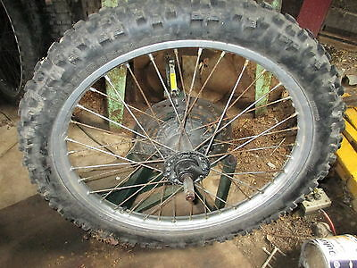 "Honda Xl / Xr 21"" Front Alloy Wheel Tyre Brake Disc And Spindle Free Uk Post"
