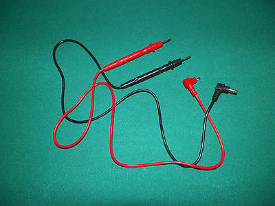 Multi Tester - Multi Meter Banana Plug Test Probe Leads 28""